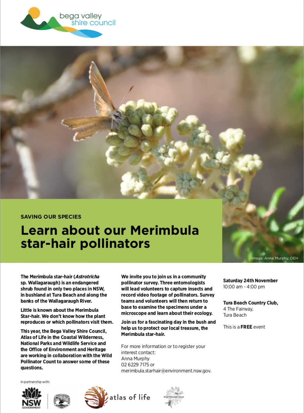 Pollinator Field Day poster